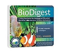 Prodibio Bio Digest, Nitrifying Bacteria, Fresh and Salt Water, 6/1 mL vials, 30 gal and up by Prodibio