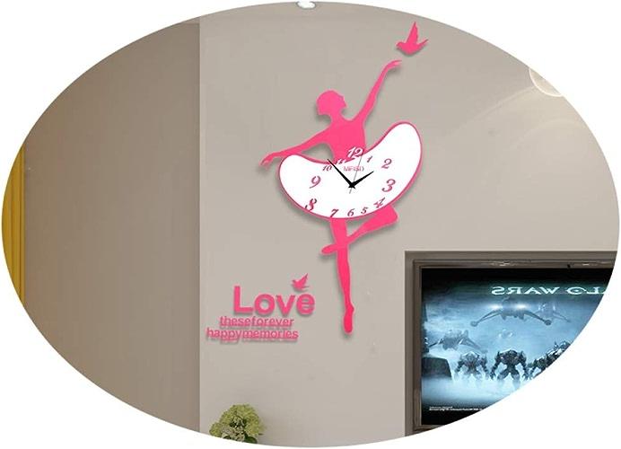 Horloge Murale De Salon, Horloge Murale Créative Silencieuse
