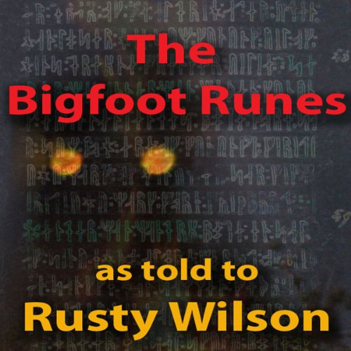 The Bigfoot Runes audiobook cover art