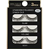 Meclelin Falsche Wimpern 5 Paare Lange 3D Natürliches Aussehen Schwarz Erweiterung Makeup Style