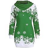 VEMOW Damen langarm schwangerschafts-bluse grün 42 us