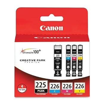 Canon PGI225/CLI226 Color Multi Pack Compatible to iP4820 MG5220 MG5120 MG6120 MG8120 MX882 iX6520 iP4920 MG5320 MG6220 MG8220 MX892