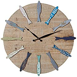 Ganz Midwest-CBK Fish Wall Clock
