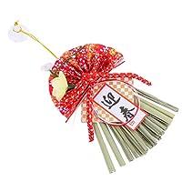 KESYOO 置物 ちりめん 門松 アレンジメント 迎春 御守り 新年 飾り 卓上 正月飾り 新年の吊り飾り