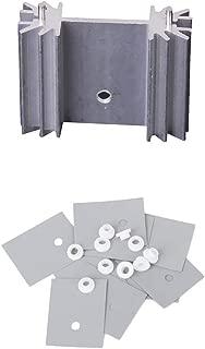 25pcs Sink 8x8x5mm Aluminum Heatsink Kit W.Cooling Stick for Raspberry PI