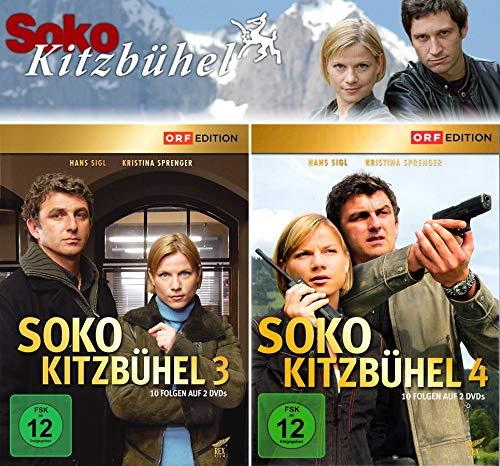 SOKO Kitzbühel - Box 3+4 (4 DVDs)