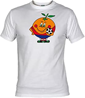Desconocido Camiseta Naranjito Adulto/niño EGB ochenteras 80´s Retro