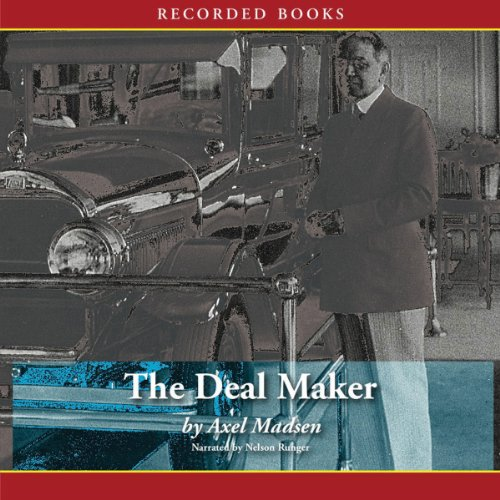 The Deal Maker audiobook cover art