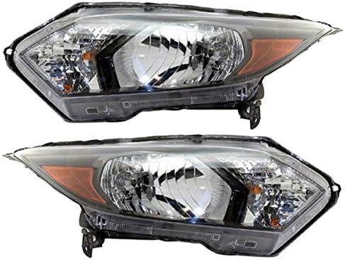 Partomotive For 16 17 18 Max 85% OFF HR-V Front Headlight Halogen H Headlamp latest