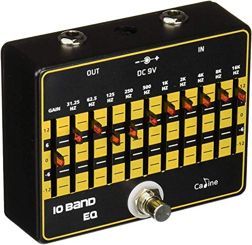 Caline CP-24 10-Band EQ Equalizer Guitar Effects Pedal With True Bypass