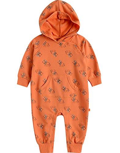 Vaenait Habillement bébé garçon Combinaison grenouillère Combinaison de Jeu Roi Lion - Orange - S