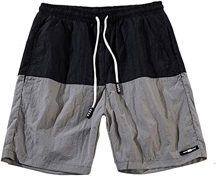 CHLZYD Mens Swimming Trunks Fitness Shorts Boxer Brief Swimwear Tight Underwear Pants Surfing Diving Snorkeling