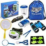Joyjoz Adventure Kit, Kids Outdoor Kit with Compass, Binoculars, Flashlight, Magnifying Glass, Backpack,...