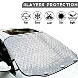 iZoeL Windshield Magnetic Snow Cover Winter Windscreen Protector Frost Ice Guard Full Protection Car Cover...
