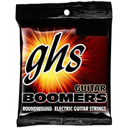 GHS Strings DYM Guitar Boomers, Nickel-Plated Electric Guitar Strings, Wound G, Medium (.013-.056)