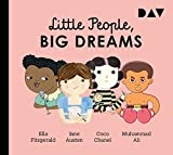 Little People, Big Dreams® – Teil 2: Ella Fitzgerald, Jane Austen, Coco Chanel, Muhammad Ali: Hörspiele mit Peter Lontzek, Dirk Petrick u.v.a. (1 CD)