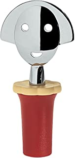 A di Alessi Anna Stop 2 Bottle Stopper, Red