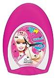 LEXIBOOK - Despertador analógico, diseño Barbie