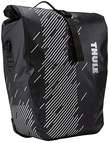 Thule 100075 Alforja para Bicicleta, Shield Pannier S, Negro