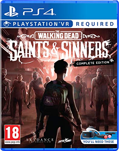 The Walking Dead: Saints & Sinners - The Complete Edition (Psvr Required) PS4 - Complete - PlayStation 4