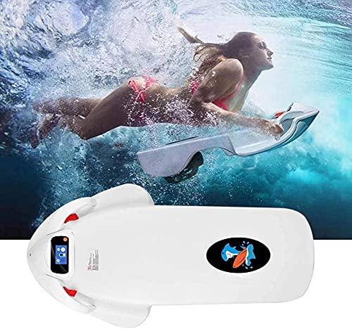 FakeBoard Agua Propeller, Tabla de Surf eléctrica Adulta, Scooter Submarino Scooter del mar, Smart Somatosensory Surfing Board Ayudas de natación BJY969