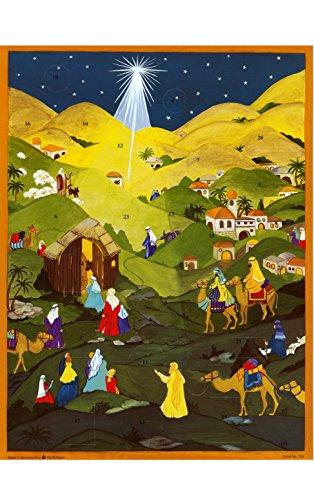 Alexander Taron Importeur adv753der Stern von Bethlehem glänzt Hinter Dem Hirten auf Kamele, die Werden von Den Glow aus der in Dieser Glitzer Ein Gel Eine nouncing der Geburt Christi