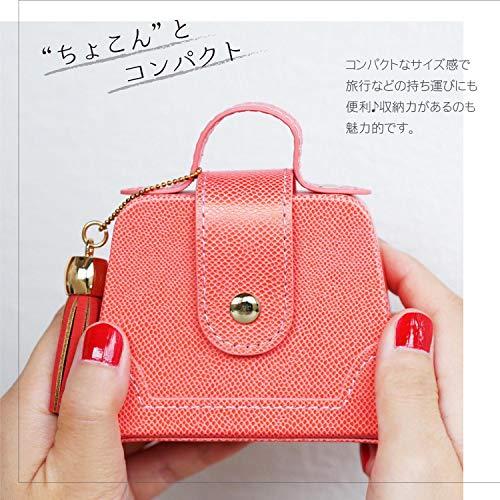 きざむ名入れアクセサリーケース携帯用ジュエリー収納トラベル旅行用贈り物ギフト(ピンク)