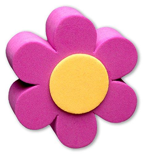 Tenna Tops Purple Daisy Car Antenna Topper/Antenna Ball/Mirror Dangler/Desktop Spring Stand