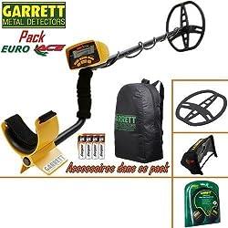 test détecteur de métaux GARRETT EURO ACE 350