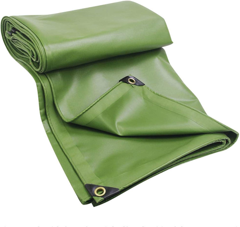 Rainproof Cloth Waterproof Sunscreen Thick Canvas Canopy Tarpaulin (Size   4m4m)