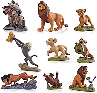 The Lion King Simba Collection Luxury Home Décor Inspirational Figures Collectable Toys Latest Cake Ornament (B-Lion King ...