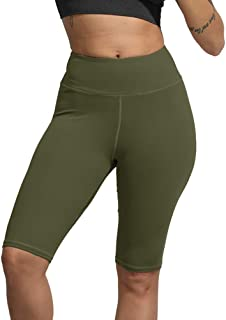Uoohal Yoga Shorts,Tummy Control,Women's Sports Shorts,High Waisted Workout Pants,Soft Running Yoga Leggings