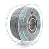 YOUSU Tangle Free 3D Printer Filament Gray PLA Filament 1.75 mm for 3D Printer & 3D Pen 1 kg (2.2 lbs)