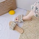 Zapatillas De Casa para Mujer Baratas Arco De Las Mujeres Lleva Un Cien Sandalias Deportivas De JardíN De Playa De Fondo.-UE 39 (245mm / 9.65')_h