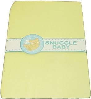 Snuggle Baby Berceau/landau Drap-housse–Citron