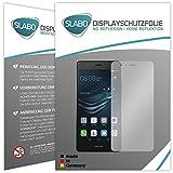 Slabo 4 x Bildschirmschutzfolie für Huawei P9 Lite (2016) Bildschirmfolie Schutzfolie Folie Zubehör No Reflexion MATT