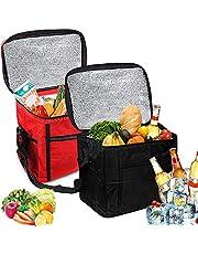 Opvouwbare koeltas, 10 l, picknicktas, koeltas, lunchtas, koeltas, ijstas, koeltas, mini opvouwbaar, mini-koeltas, thermotas, opvouwbaar, klein, isolatietas, lunch, koelbox voor picknick