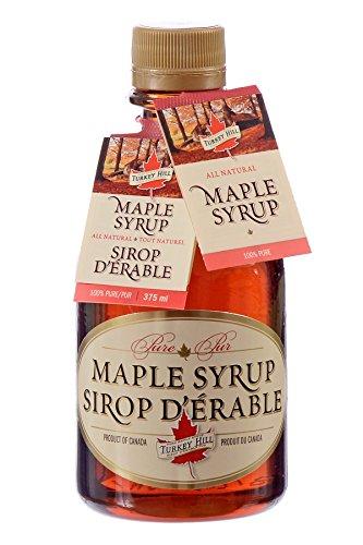Turkey Hill Grade A Pure Maple Syrup Dark Robust Taste 375 Ml
