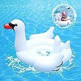 Baby Aufblasbarer Schwimmreifen,Baby Float Schwimmreifen,Baby Schwimmring mit Schwimmsitz,Baby Pool Schwimmring,Aufblasbarer Schwimmreifen Kleinkind,für Kinder ab 8 Monaten bis 48 Monaten