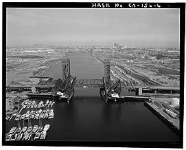 Photo: Henry Ford Bridge,Cerritos Channel,Los Angeles-Long Beach Harbor,California,5