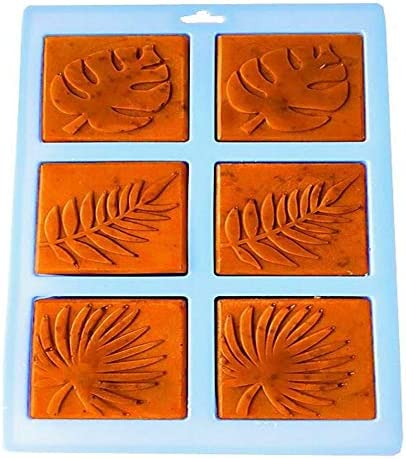 Soap Mold Palm Ranking integrated Detroit Mall 1st place Olive Leaf Shaped Art soap Craft Silicone