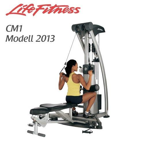 Life Fitness CM1 (Nachfolger G5 Multistation) - Modell 2013 - Kraftstation - Fitness Station inkl. Hantelbank