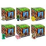 Minecraft Minecart Series Mini-Figure Blind Box (Pack of 6)