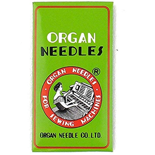 Organ HLX5 Needles for Brother PQ-1300, PQ-1500, PQ-1500S, Viking Mega Quilter, Pffaff 1200 Grand Quilter 10PK (75/11)