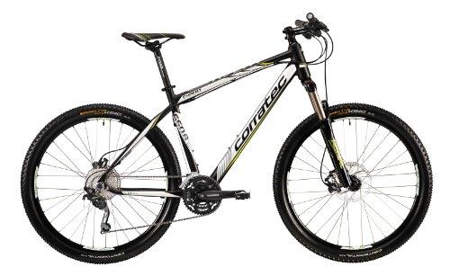 Corratec Fahrrad MTB X Vert S 650B Expert, Schwarz/Weiß/Grün, 39, BK17039-0039