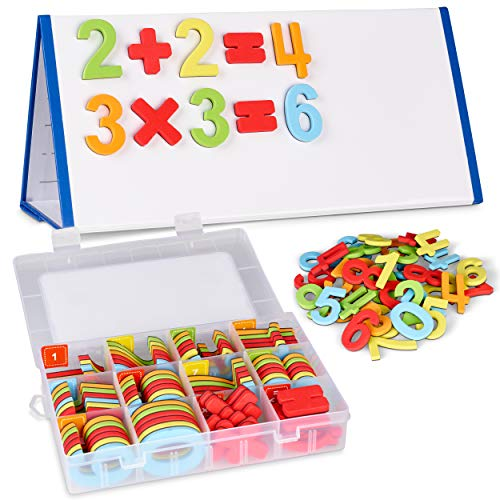 Chuchik Magnetic Numbers Set (Numbers-5-colors)