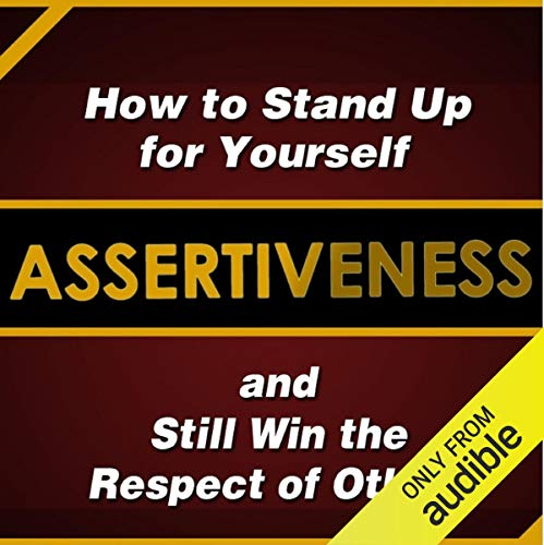 Assertiveness audiobook cover art