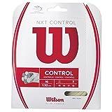Wilson Tennis Racket String, NXT Control, 12.2 m, Transparent/Natural, 1.32 mm, Unisex, WRZ941900