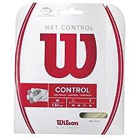 Wilson(ウイルソン) テニス ストリング NXT CONTROL 16 (NXT コントロール16) WRZ941900 マルチ・フィラメント ガット 単張り ウィルソン