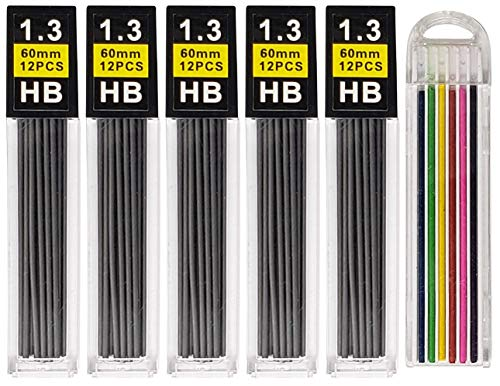 Mechanical Pencil Lead Refills (Big Pack - Graphite, 1.3 mm)